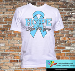Prostate Cancer Hope Keeps Me Going Shirts - GiftsForAwareness
