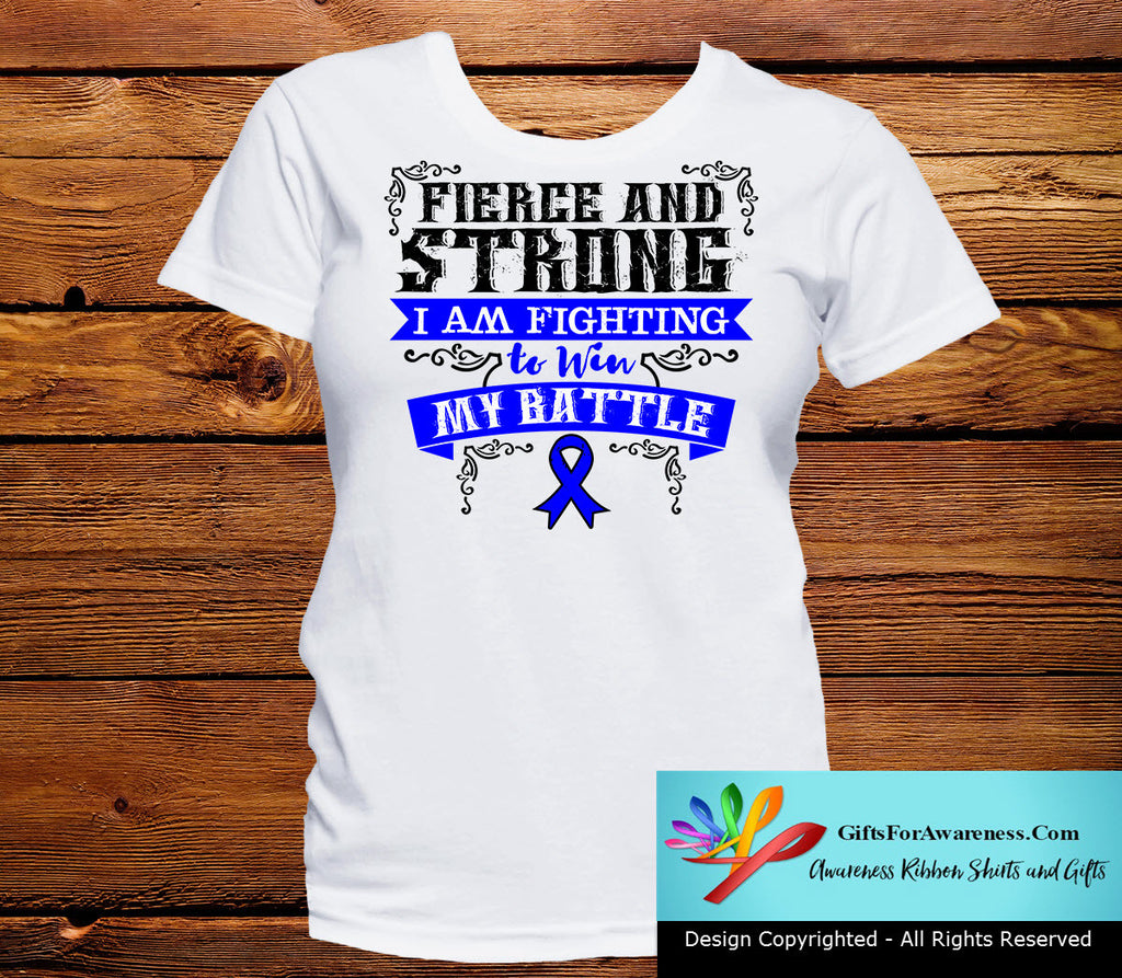 Rectal Cancer Fierce and Strong I'm Fighting to Win My Battle