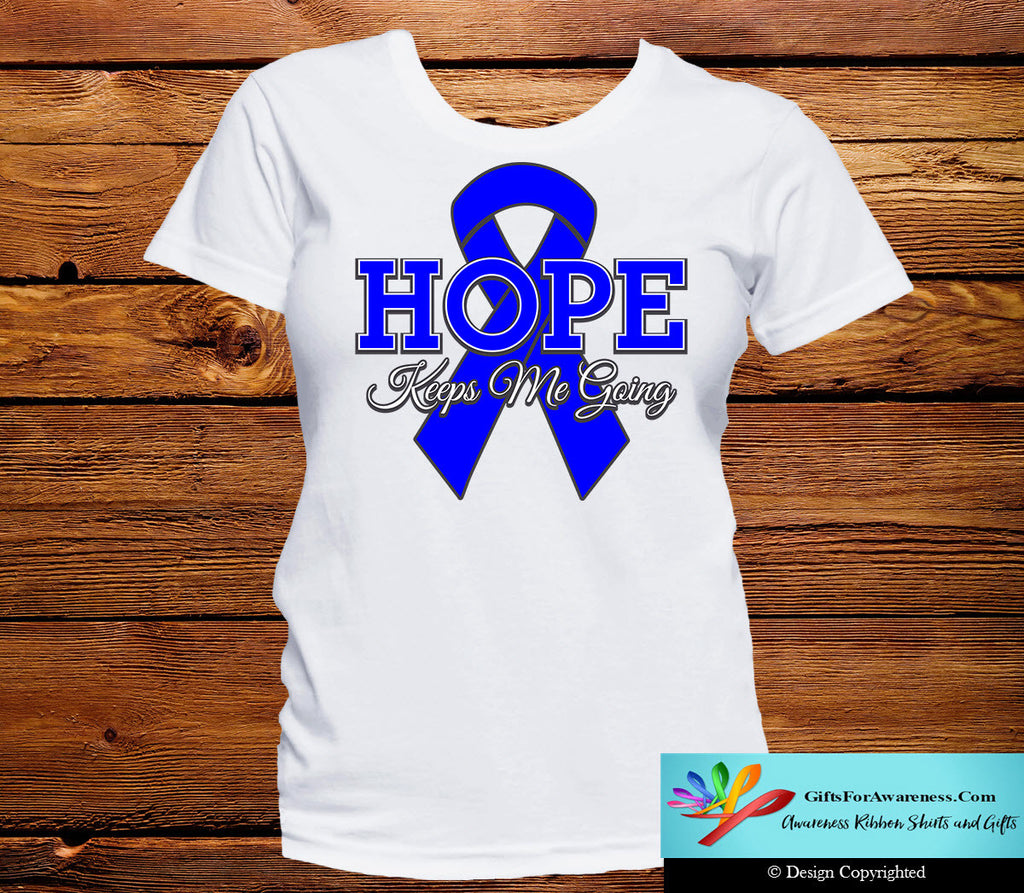 Rectal Cancer Hope Keeps Me Going Shirts
