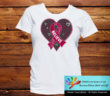 Sickle Cell Anemia Believe Heart Ribbon Shirts - GiftsForAwareness
