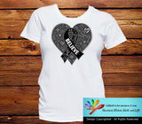 Skin Cancer Believe Heart Ribbon Shirts - GiftsForAwareness