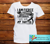 Skin Cancer I Am Fierce Strong and Brave Shirts - GiftsForAwareness