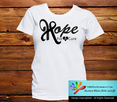 Skin Cancer Hope For A Cure Shirts - GiftsForAwareness