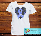 Stomach Cancer Believe Heart Ribbon Shirts - GiftsForAwareness