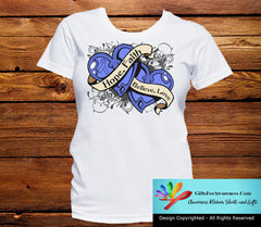 Stomach Cancer Hope Believe Faith Love Shirts - GiftsForAwareness