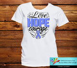 Stomach Cancer Love Hope Courage Shirts