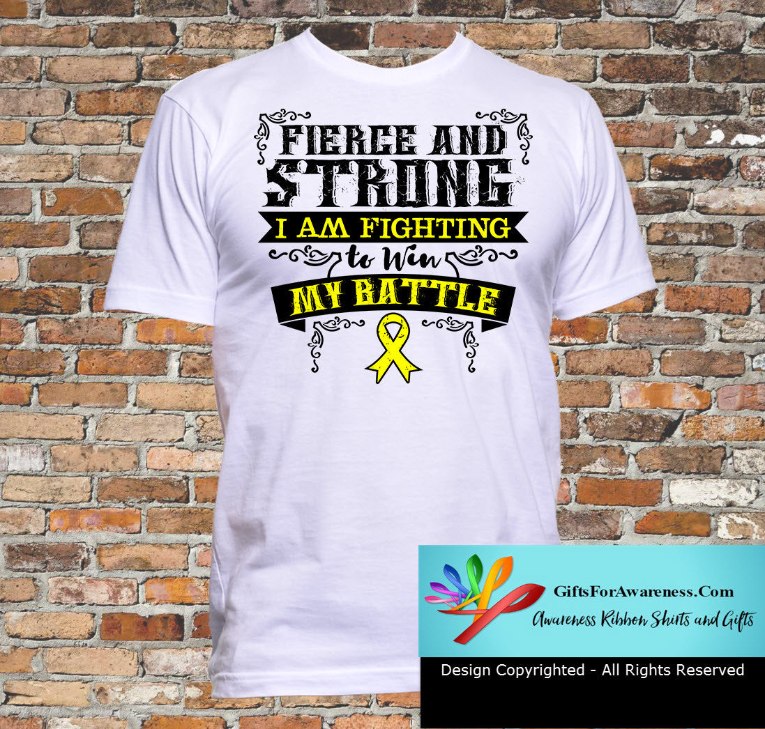 Testicular Cancer Fierce and Strong I'm Fighting to Win My Battle - GiftsForAwareness