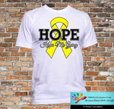 Testicular Cancer Hope Keeps Me Going Shirts