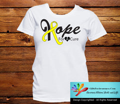 Testicular Cancer Hope For A Cure Shirts