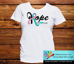 Thyroid Cancer Hope For A Cure Shirts - GiftsForAwareness