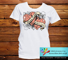 Uterine Cancer Hope Believe Faith Love Shirts - GiftsForAwareness
