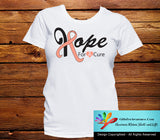 Uterine Cancer Hope For A Cure Shirts - GiftsForAwareness