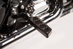 Harley Ambush Series Passenger Pegs – Black by Misfit Industries