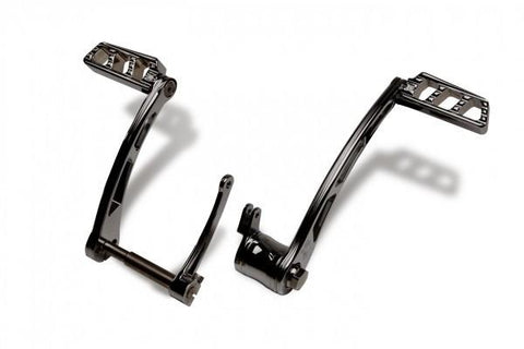Harley Ambush Series Foot Controls – Black by Misfit Industries