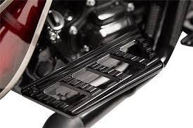 Harley Ambush Series Passenger Floor Boards – Black by Misfit Industries