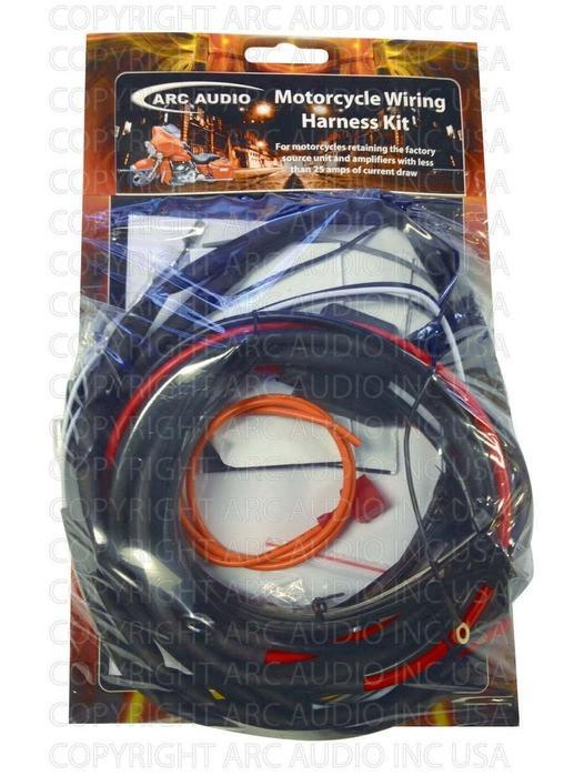 arc audio amplifier wiring harness kit rh misfitmademotorcycles com Burnt Electrical Wiring Auto Rod Controls Wiring Diagram