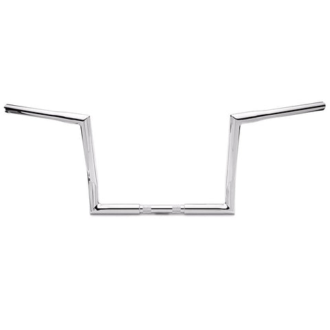 "Harley 12"" Street Rage Bars 2013-Down - Black or Chrome by Misfit"
