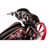 "Harley 12"" Street Rage Bars 2014-Current - Black or Chrome by Misfit"