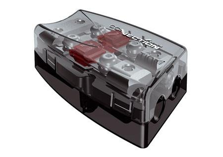Hertz Connection 2 Way Fused Power Distribution Block