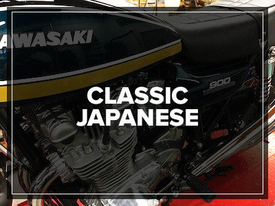 Ikon Shocks for vintage Japanese bikes