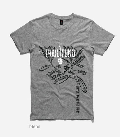 Trail Fund Designer T-Shirt - Marle Gray - Men's