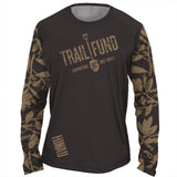 "Long Sleeve Men's Riding Top ""Leaves"""