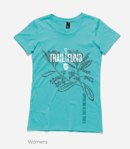 Trail Fund Designer T-Shirt - Teal - Women's