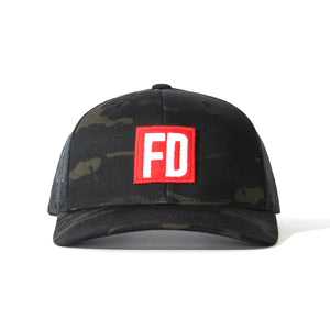FD Multicam Black Mesh Hat