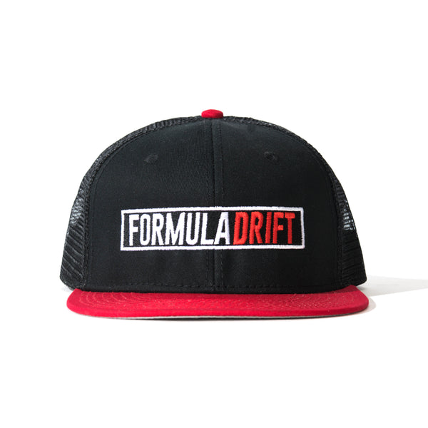 Formula Drift Black/Red Mesh Hat