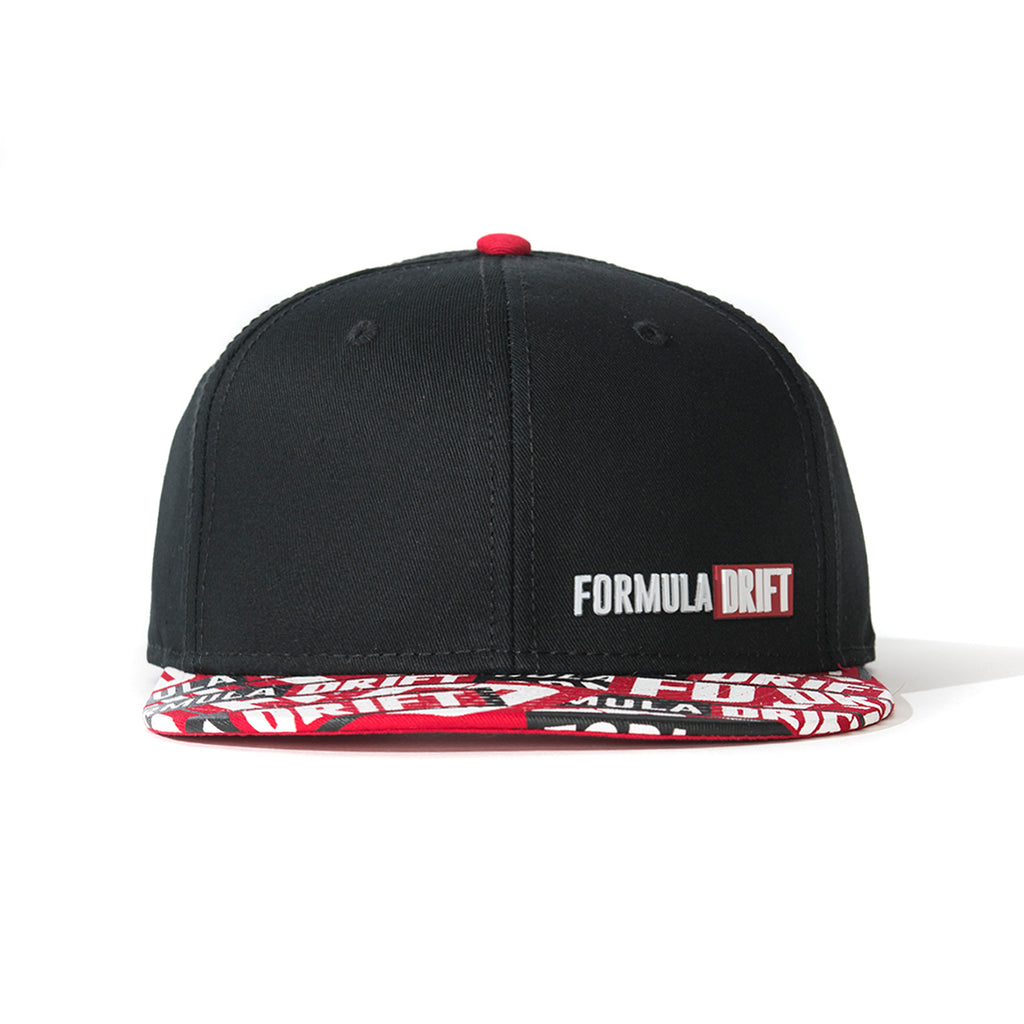 All Over Print w/Rubber Logo Hat