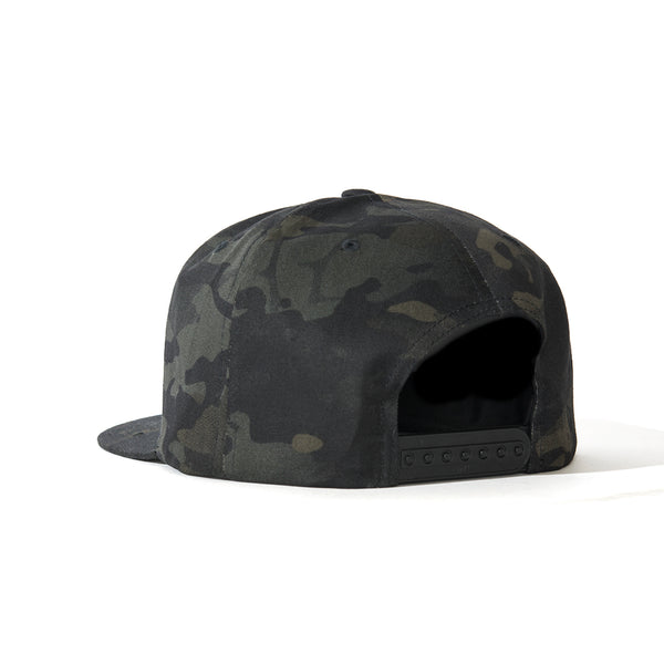 Multicam Black Flatbill Hat