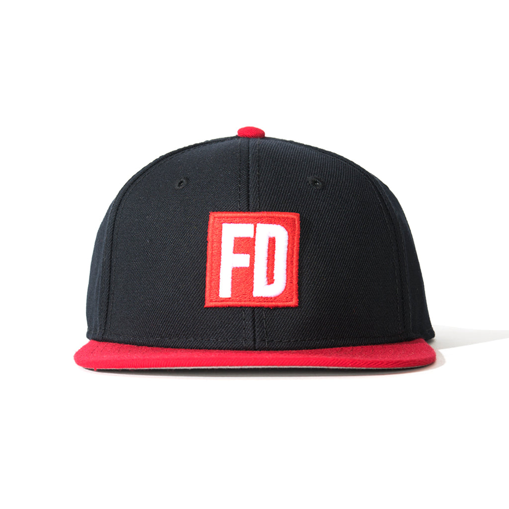 FD Black w/ Red Bill Hat