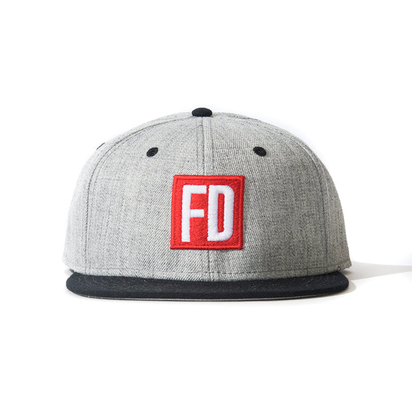 FD Grey w/ Black Bill Hat