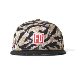 FD Tiger Camo Green Hat