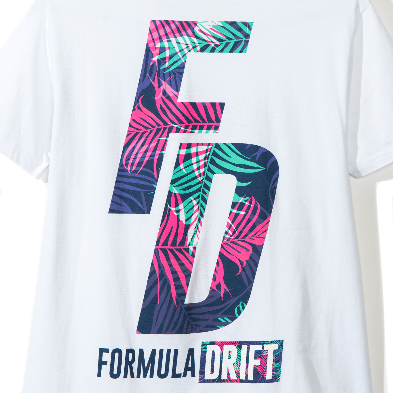 FD Floral Tee White