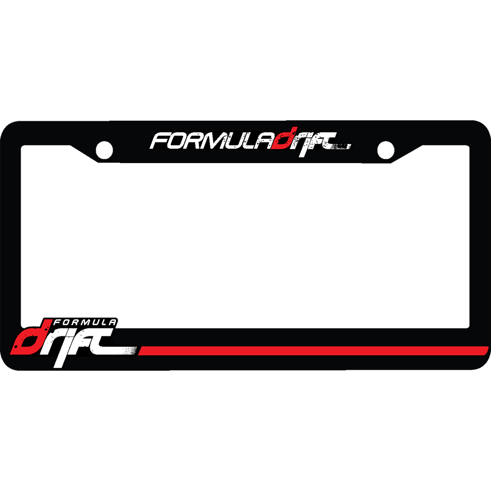 Formula Drift License Plate Frame – SHOPFD