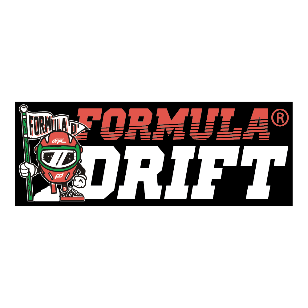 Formula Drift Sticker - Character