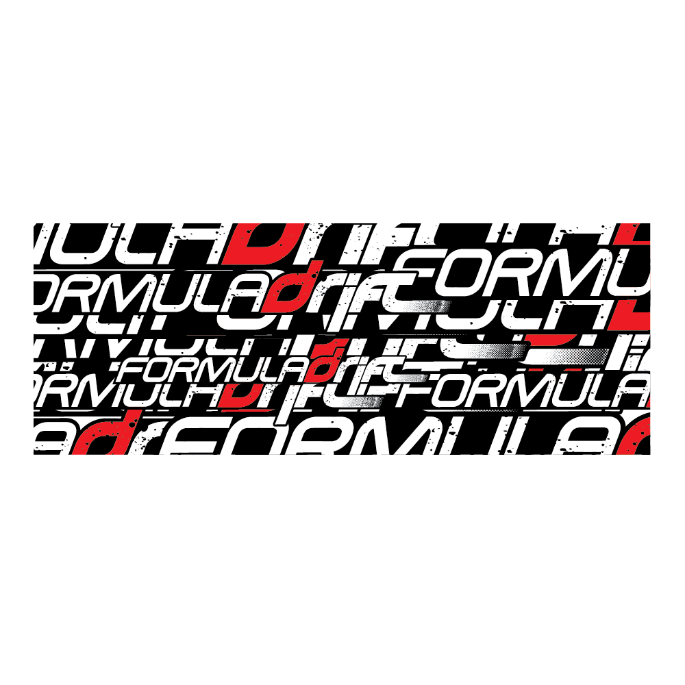 Formula Drift Sticker - Collage (Style B)