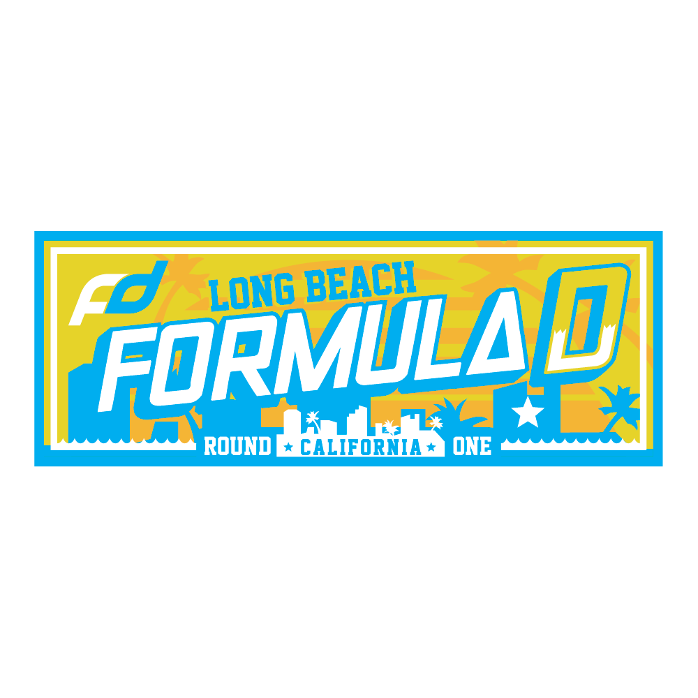 Formula Drift Sticker - City Tour (Round 1 - Long Beach)