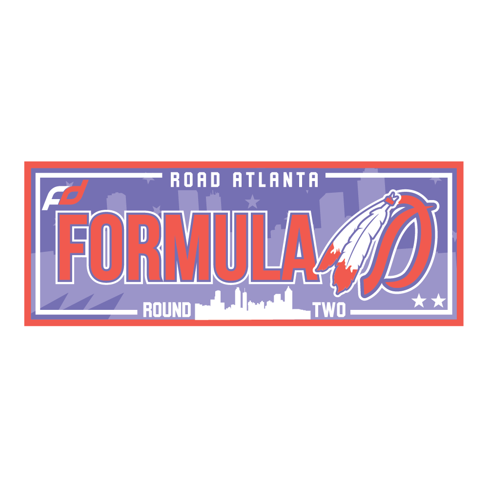 Formula Drift Sticker - City Tour (Round 2 - Atlanta)