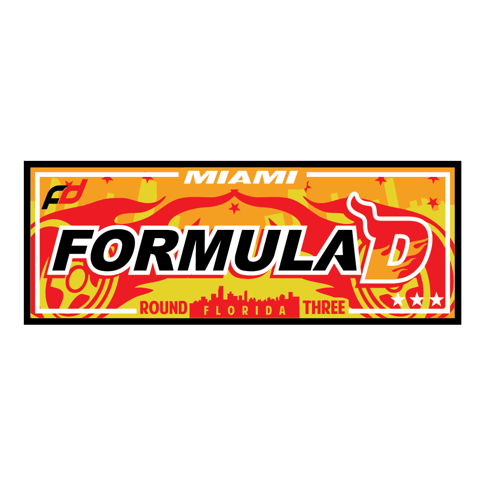 Formula Drift Sticker - City Tour (Round 3 - Miami)