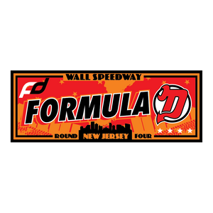 Formula Drift Sticker - City Tour (Round 4 - New Jersey)