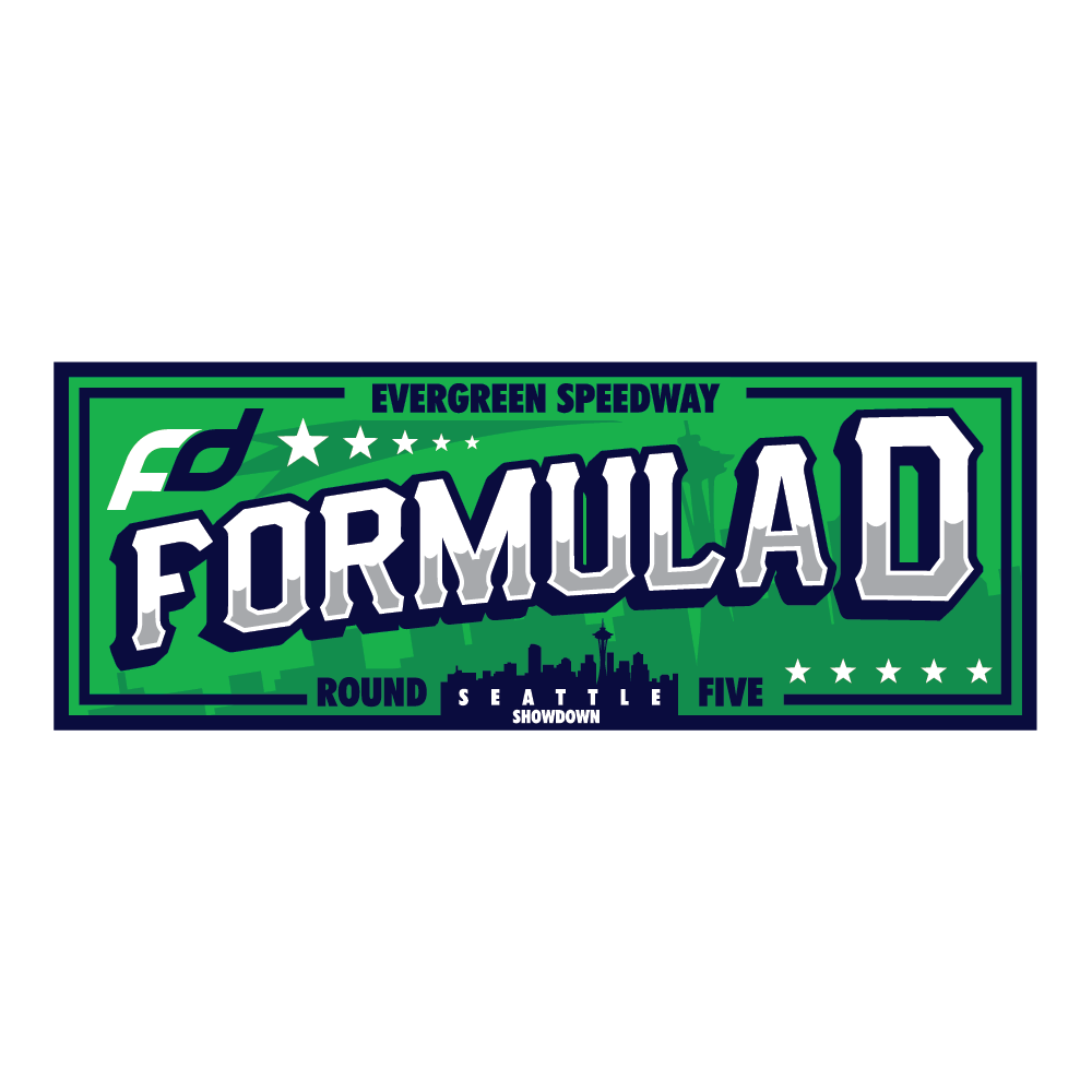 Formula Drift Sticker - City Tour (Round 5 - Evergreen)