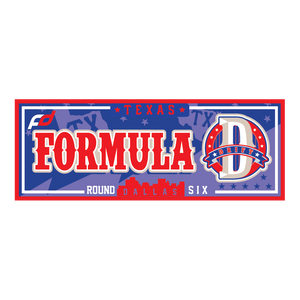 Formula Drift Sticker - City Tour (Round 6 - Texas)