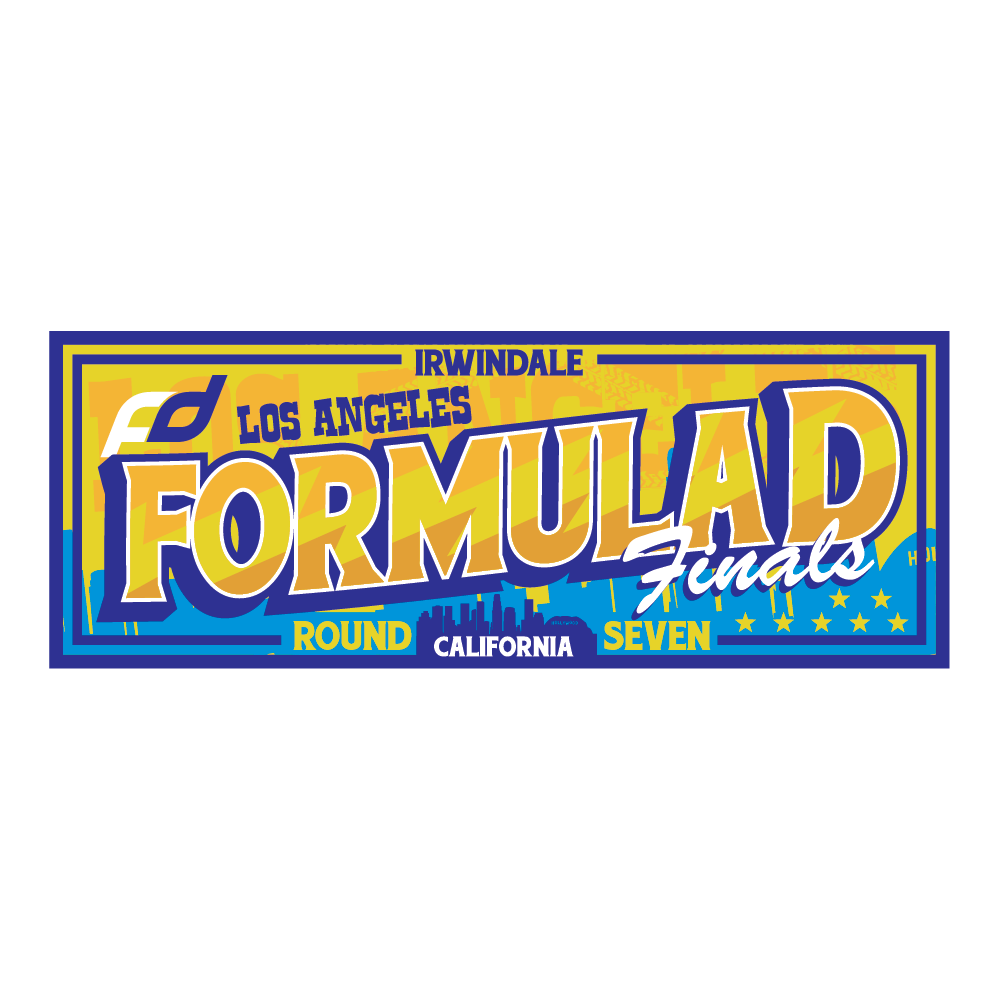 Formula Drift Sticker - City Tour (Round 7 - Irwindale)