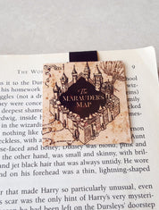 Marauders map magnetic bookmark