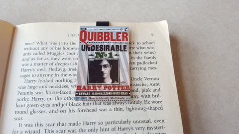 Harry Potter Quibbler 1 Magnetic Bookmark