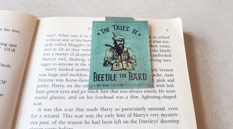 Beedle The Bard magnetic bookmark
