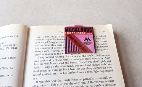 Ministry of Magic magnetic bookmark
