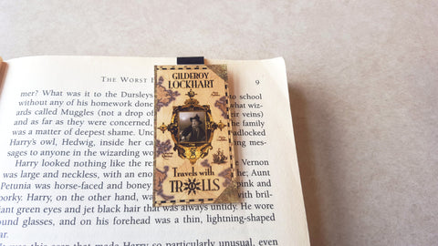 Gilderoy Lockhart magnetic bookmark